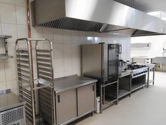 Profesjonalna kuchnia ze stali nierdzewnej Białystok