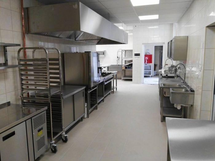 Kompleksowo wyposażona kuchnia do gastronomi Białystok
