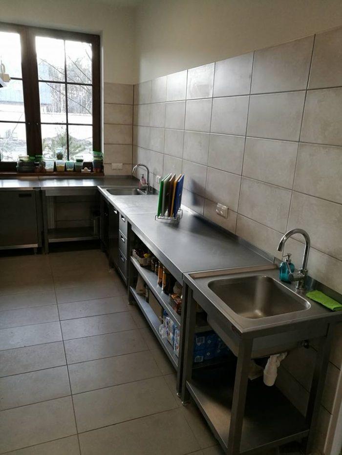 Elementy kuchni ze stali nierdzewnej w Białymstoku