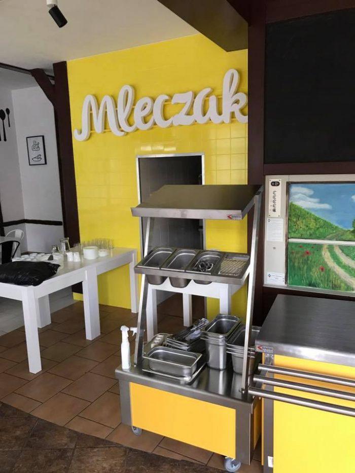 Wyposażenie kuchni baru mleczak w Białymstoku