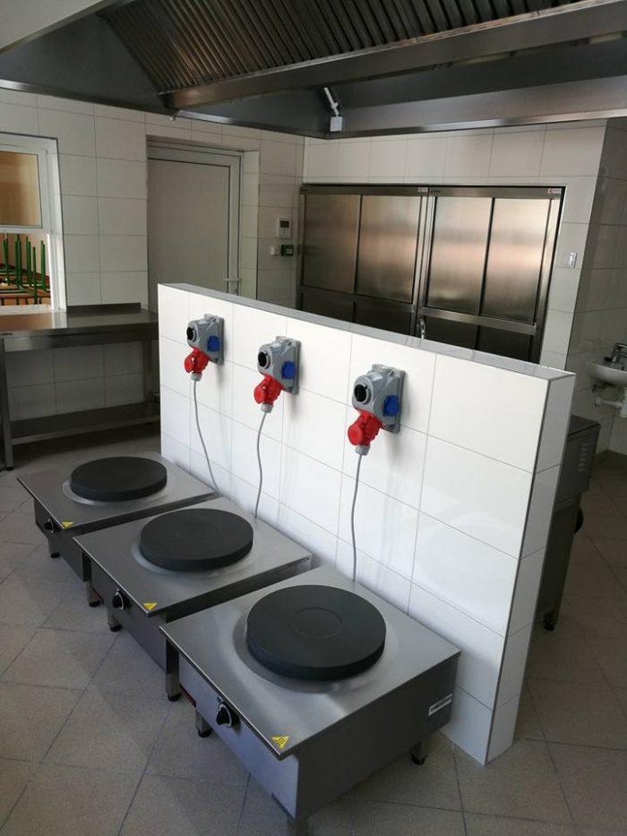 Piece elektryczne w kuchni z Białegostoku