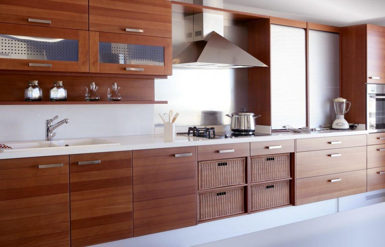 Kuchnia elektryczna zamontowana w kuchni