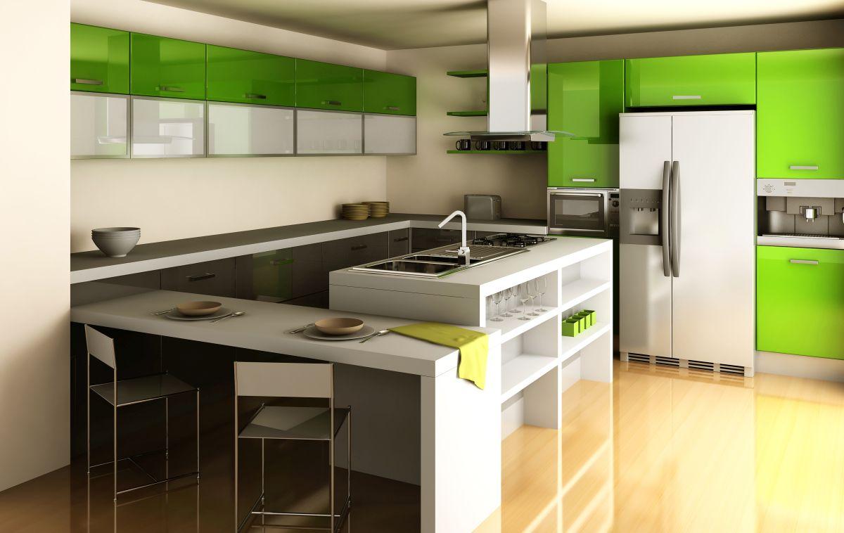 Urządzenie chłodnicze w kuchni